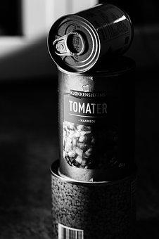 Tomato, Hermetic, Box, Food, Can, Metal