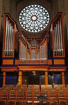 Uppsala Cathedral, Organ, Rosette, Choir Stalls, Aisle