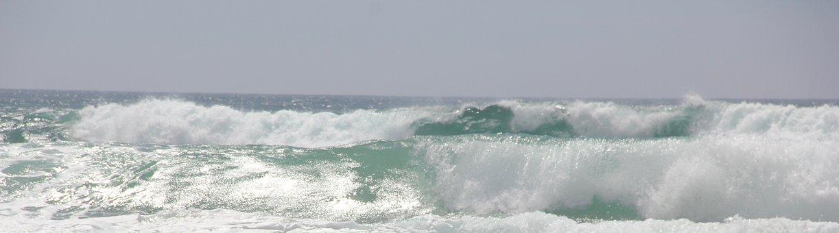 Wave, Atlantic, Ocean, Crusher, Water, Water Power