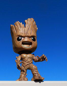 Angry Groot, Guardians Of The Galaxy, Action Figure