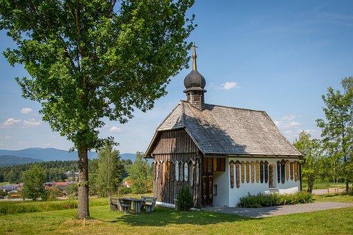 White Stone, Chapel, Bavaria, Church, Feldkapelle