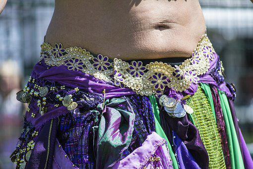 Belly, Dancing, Dancer, Girl, Woman, Female, Costume
