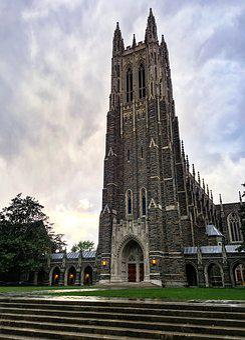 Chapel, Duke, Sky