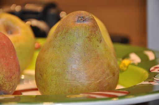 Pear, Pears, Fr, Fruit, Fresh, Food, Organic, Ripe