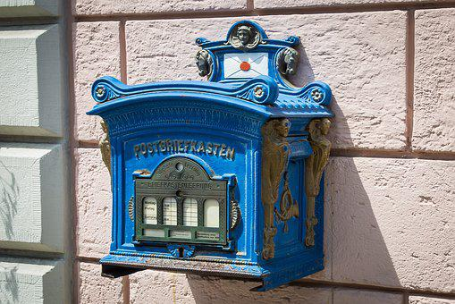 Mailbox, Post, Post Mail Box, Letter Box, Letters