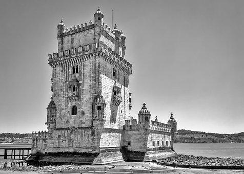 Torre De Belem, Lisbon, Fort, Portugal