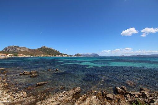Sardinia, The Gulf Of Olbia, Mediterranean, Turquoise