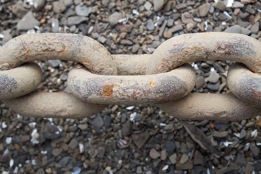 Chain, Metal, Ship, Iron, Corrosion, Connection, Rusty