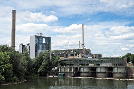 Architecture, Power Plant, Building, Industry, Sky