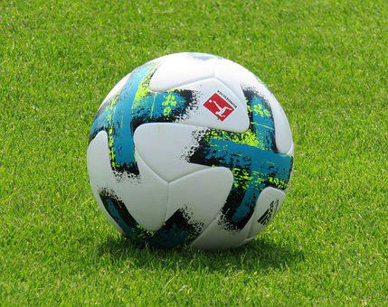 Sport, Leisure, Football, Ball, Rush, Grass, Training