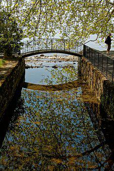 Bridge, Bach, Lutry, Vaud, Switzerland, Nature, Water