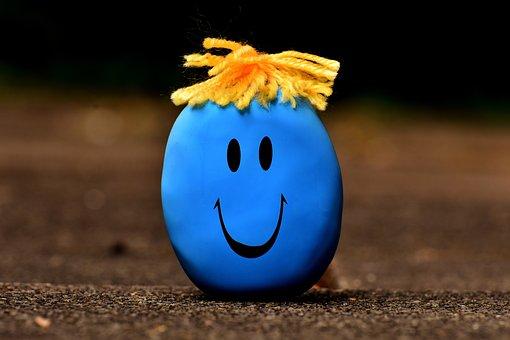 Anti-stress Ball, Smiley, Stress Reduction, Knead