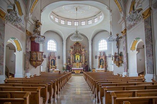 Bodenmais, Assumption, Parish Church, Church, Maria