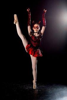 Ballet, Girl, Dance, Ballerina, Female, Performance