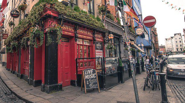 Pub, Bar, Beer, Cafe, Dublin, Drink, Ireland, Street