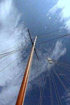 Sail, Sailing Boat, Boot, Sailing Vessel, Water