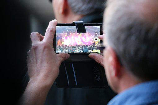 Music, Festival, Photograph, Mobile Phone, Concert
