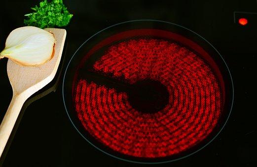 Ceramic Hob, Cook, Glow, Spiral, Kitchen, Stove