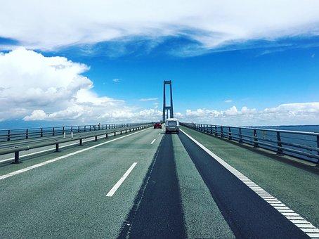 Denmark, Sweden, Bridge, Symbol, Europe, Icon, Border