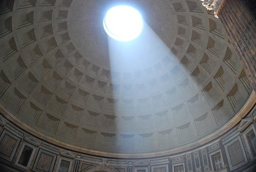 Pantheon, Dome, Rome, History, No Cracks In This Cement