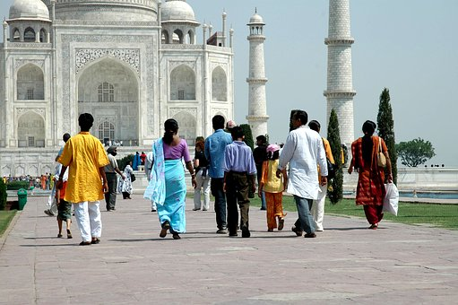 India, Taj-mahal, Building, Personal, Indians