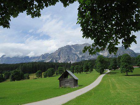 Austria, Mountains, Landscape, Holiday, View, Summer