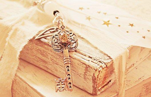 Key, Heart, Spring, Star, Pearl, Love, Symbol, Romance