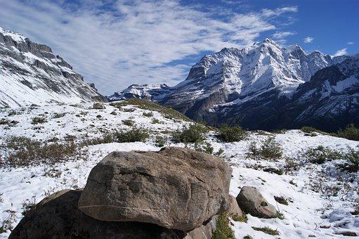 Switzerland, Mountain, Mountains, Virgin, Lauterbrunnen