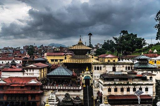 Pashupatinath, Temple, Ancient, Nepal, Architecture