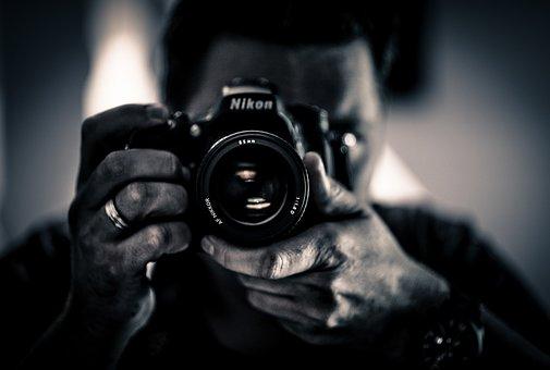 Taking, Picture, Mirror, Self-portrait, Photo, Camera