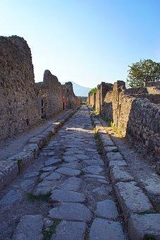 Pompeii, Italy, Ancient Ruins, Roman, Antique, Ruin
