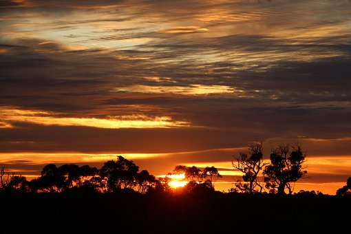Sunrise, Clouds, Sky, Busselton, Margaret River