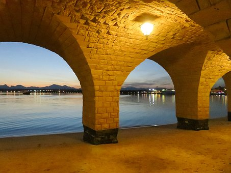 Ramadan, Red Sea, Reflections, Sunset