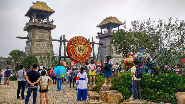 Jiangsu Orient Culture Park, Theme Park, Salt Culture