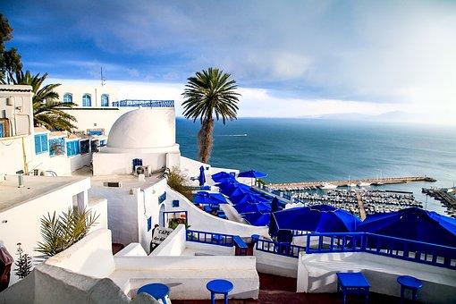Tunisia, Komachi, Seaside, Sea, Landscape