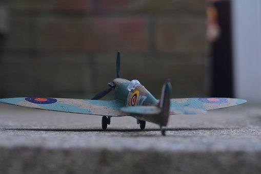 Vintage, Spitfire, Ww2, Old, War, Royal, Air, Force
