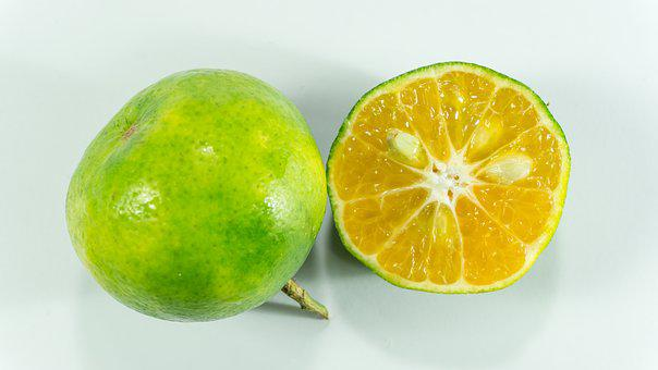 Asian Green Oranges, Vitamin C, Orange, Oranges