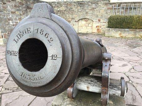 Castle, Waldeck, Barrel Of A Gun, Historically
