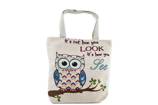 Cloth Bag, Bag, Bag Of Raffia
