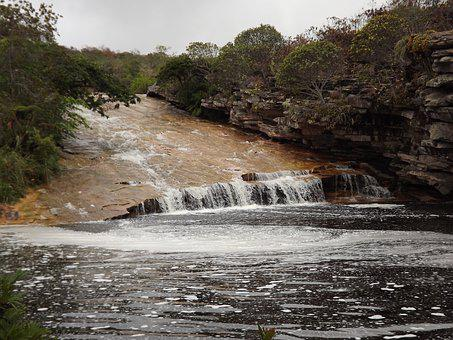Waterfall, Chapada Diamantina, Bahia