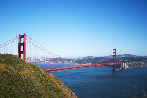 Golden Gate, San Francisco, Golden, Gate, Bridge, San