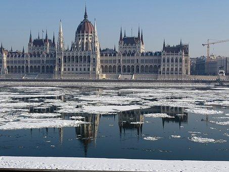 Hungarian Parliament Building, Parliament, Budapest