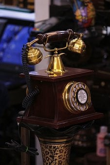 Telephone, Old Telephone, Phone, Old, Communication