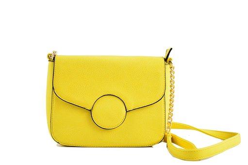 Bag Yellow, Fashion, Bag Shoulder Bag