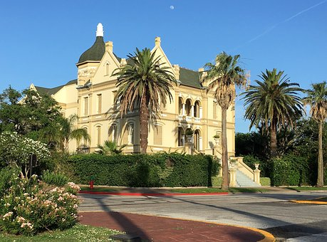 Galveston, Texas, Building, Architecture, Downtown