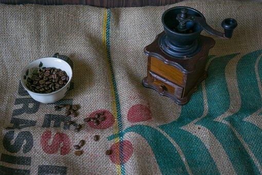 Coffee, Coffee Beans, Grain Coffee, Coffee Grinder