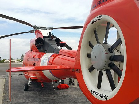 Helicopter, Coast Guard, Rescue, Fly, Rotor, Flight
