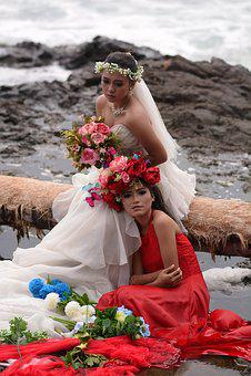 Model, Photography, Female, Couple