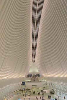 New York City, Manhattan, Transit, Station, Oculus