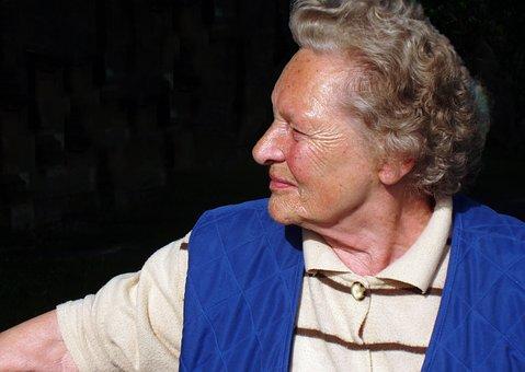 Woman, Pensioner, Portrait, Old, Seniorin, Old Woman